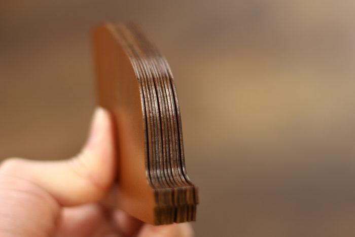 改良を重ねた、マネークリップ型財布