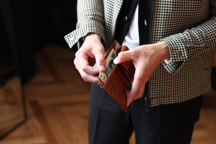 紳士革財布の定番中の定番