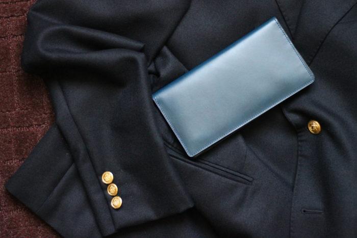 革財布の魅力を感じる長財布、Untrad