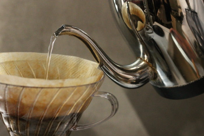 休憩とコーヒー