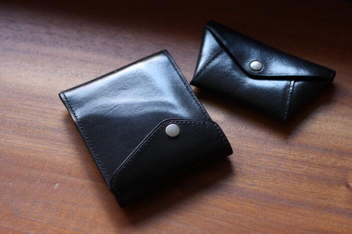 革財布/小銭入れのエイジング