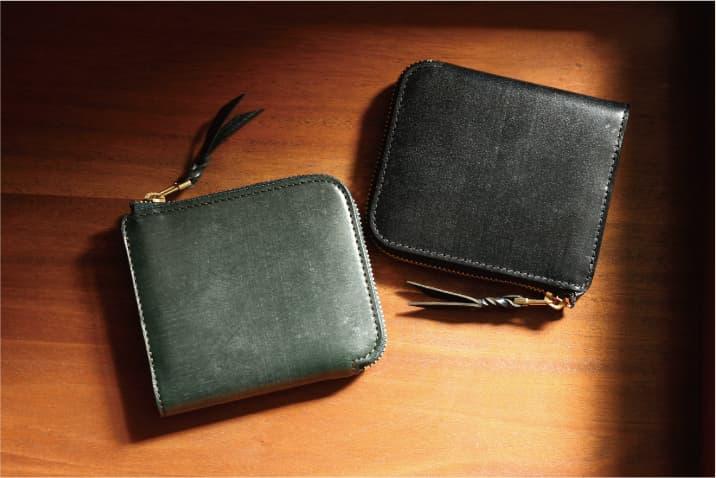"""BRIDLE and ALASKA L-ZIp wallet """"Cram"""""""